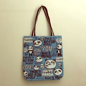 Handbags - Panda Tote Bag